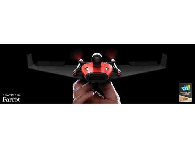 POWERUP FPV Smartphone Controlled Paper Airplane with a Live Video Stream Camera and Autop