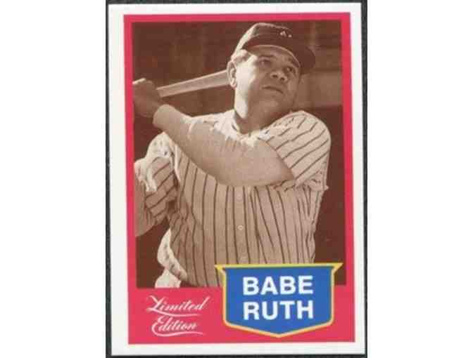 Babe Ruth Limited Edition Baseball Card + $40 DSC Sports Memorabilia Gift Certificate
