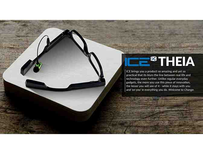 ICE Theia - Wearable Video Camera Glasses with Drive Safe Assist
