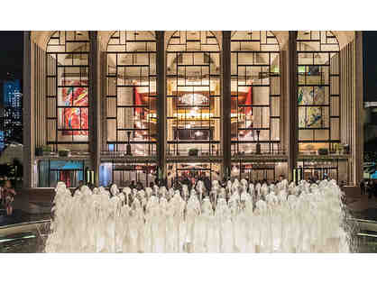 Lincoln Center Private Tour, Pre-Show Dinner, Orchestra Seats, 2 Night Stay for 2