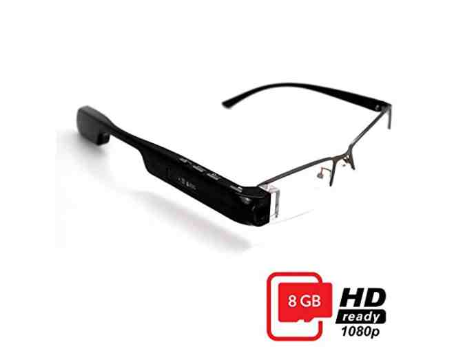DigiOptix 8GB Smart Glasses 1080P HD Camera Video Glasses Bluetooth for Smart Phone