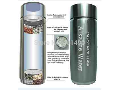 Alkaline Water flask HC-C2 enagic water ionizer