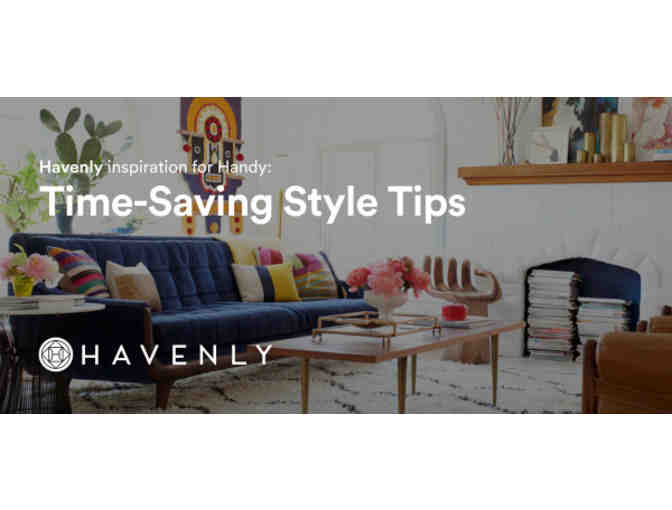 Havenly Interior Designer Service Coupon (no cost item)