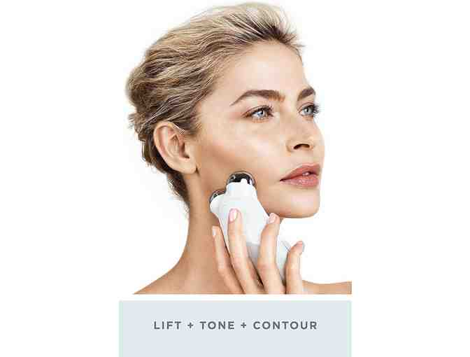 NuFACE Trinity Facial Toning Set | Wrinkle Reducer, Microcurrent Technology | FDA Cleared