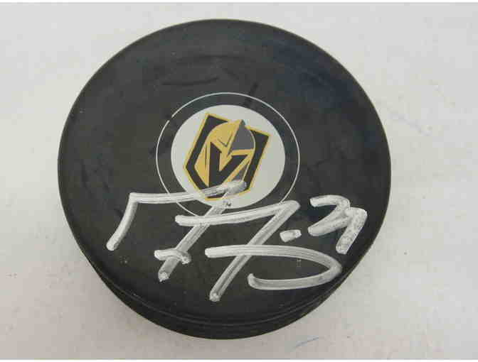 Marc Andre Fleury Las Vegas Knights Signed Puck