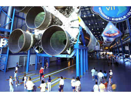 Astronaut Training Experience, KSC Up Close Tour, 3-Night Stay with Airfare for 4