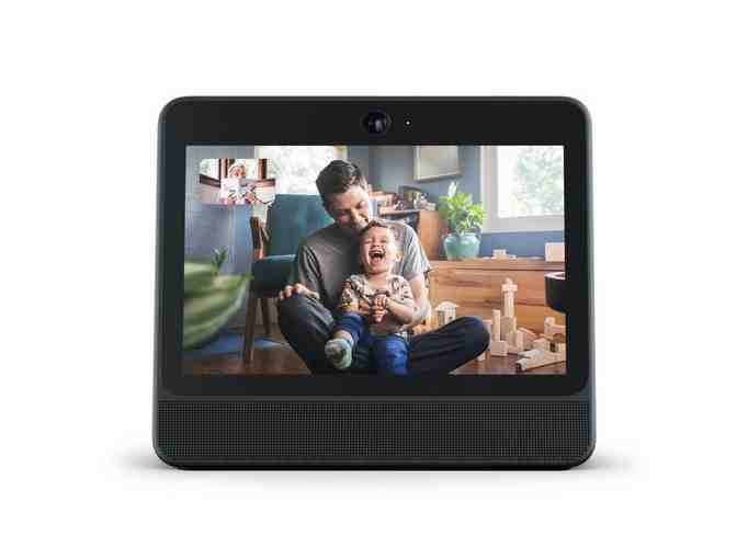 Portal from Facebook. Smart, Hands-Free Video Calling with Alexa Built-in - Photo 2
