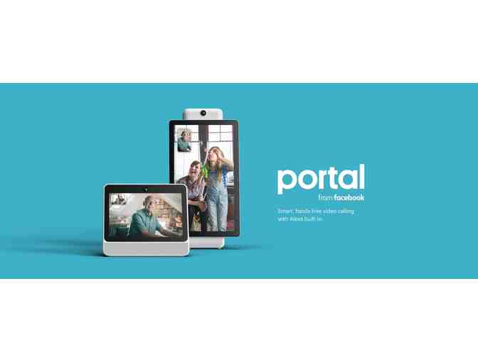 Portal from Facebook. Smart, Hands-Free Video Calling with Alexa Built-in - Photo 5