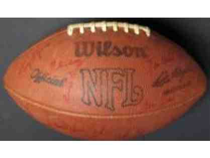 1977 Denver Broncos AFC Champions Signed Football