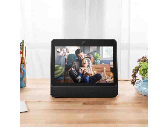 Portal from Facebook. Smart, Hands-Free Video Calling with Alexa Built-in - Photo 3