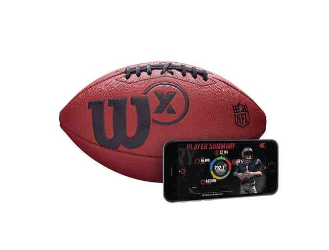 WILSON X CONNECTED FOOTBALL - OFFICIAL - Photo 1