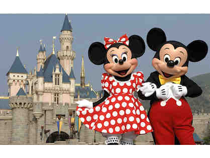 Disney Gift Card ($1050) Redeemable for Admission, 4-Night Stay with Airfare for 4