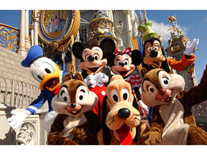 Disney Gift Card ($525) Redeemable for Admission, 4-Night Stay with Airfare for 2