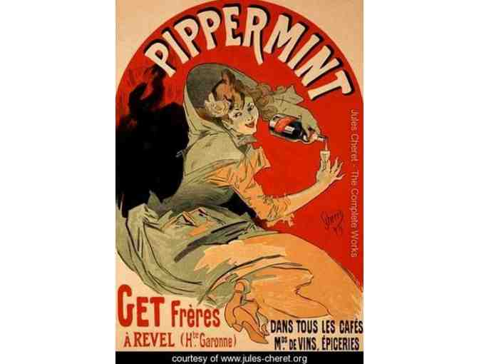 Framed Reproduction of a poster advertising 'Pippermint', 1899 - Photo 1