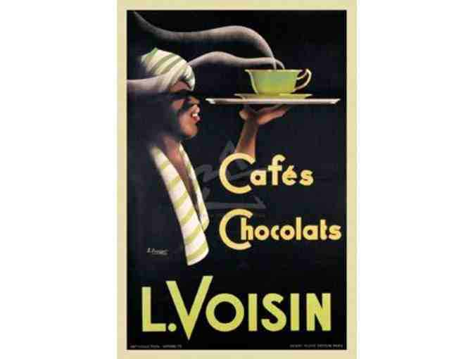 Framed Wall Art of L. Voisin Cafes & Chocolats, 1935 - Photo 1