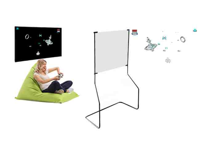 Holography Screen for TV.  Dimensions:  146 X 100 cm  (57.4 X 39.3 inches). - Photo 1