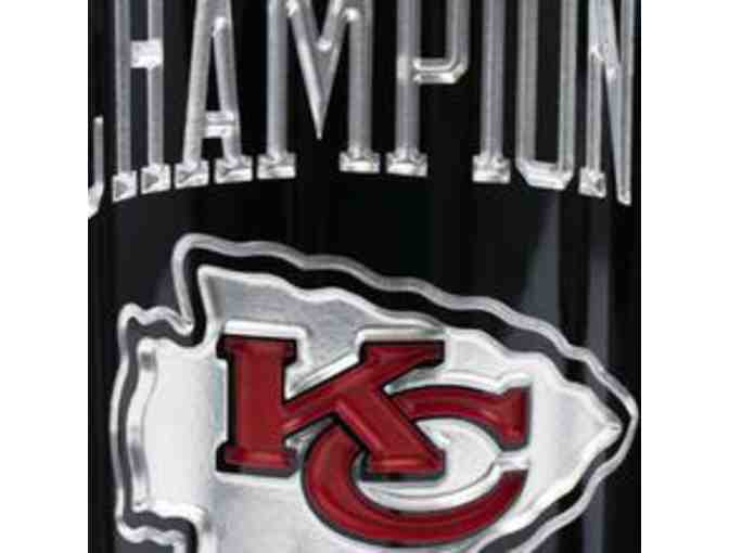 KC Chiefs 1969 Champions Etched Wine - Photo 3