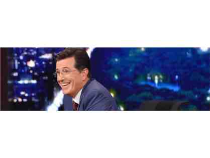 The Late Night Show with Stephen Colbert in NYC with a 3 Night Hotel Accommodations for (2
