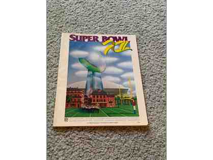1978 Super Bowl XII Program Dallas Cowboys