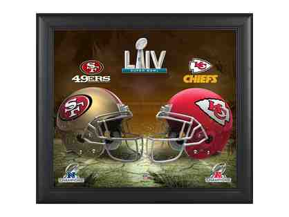 Kansas City Chiefs vs. San Francisco 49ers Fanatics Authentic Framed 15