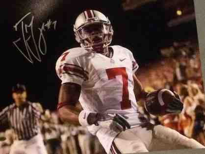Ted Ginn Jr Ohio State Large Autographed Photo