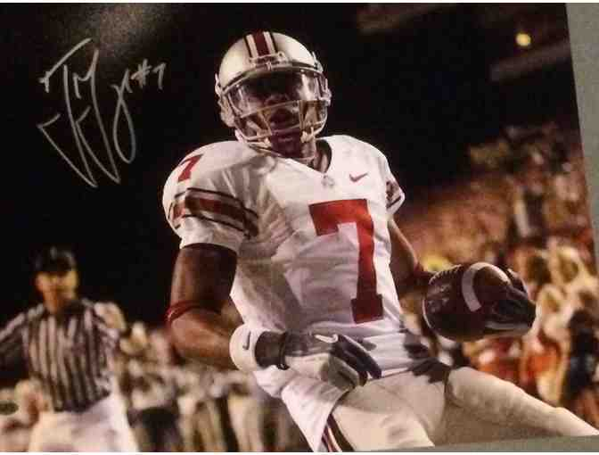 Ted Ginn Jr Ohio State Large Autographed Photo - Photo 1