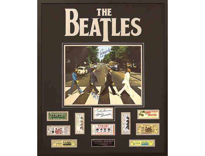 The Beatles Abbey Road Limited Edition Photo Display Only 15 Available In The World! - Photo 1