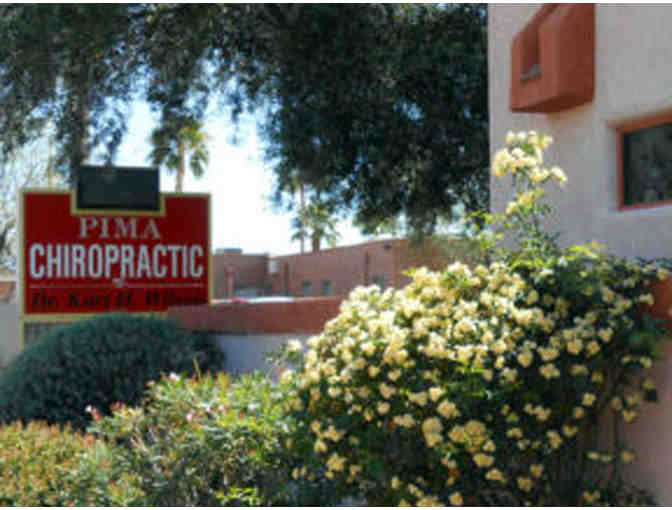 Gift Certificate for New Patient Exam & 3 Office Visits at Pima Chiropractic