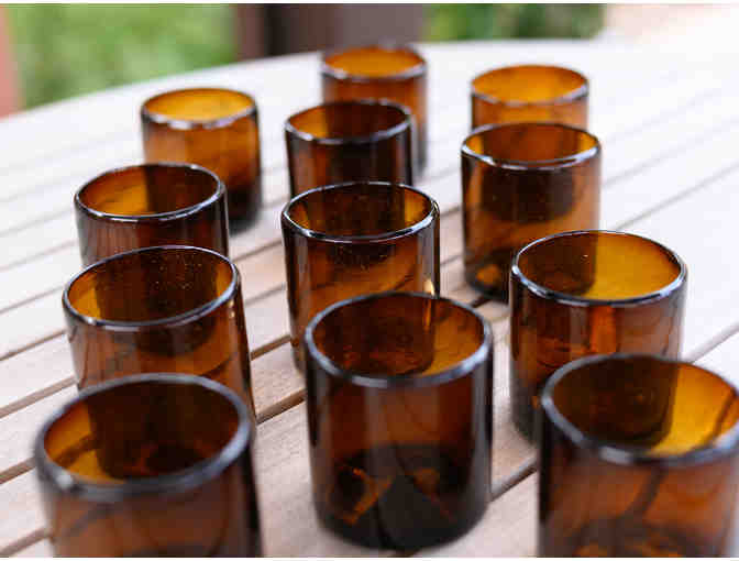 Orion's Table 10 oz. Amber Tumblers - set of 12