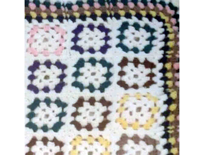 Handmade, Crocheted Afghan - Photo 2