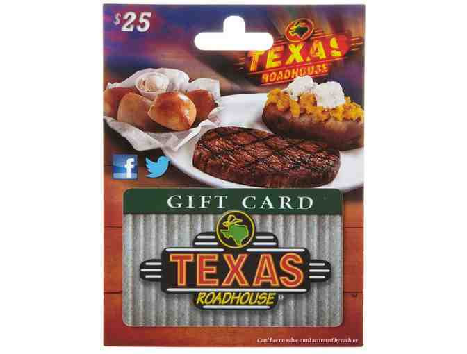 Texas Road House $25 Gift Card - Photo 1