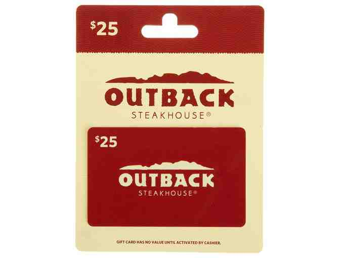 Outback $25 Gift Card
