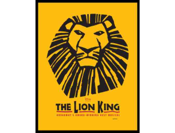 2 Tickets to THE LION KING on Broadway - Photo 1