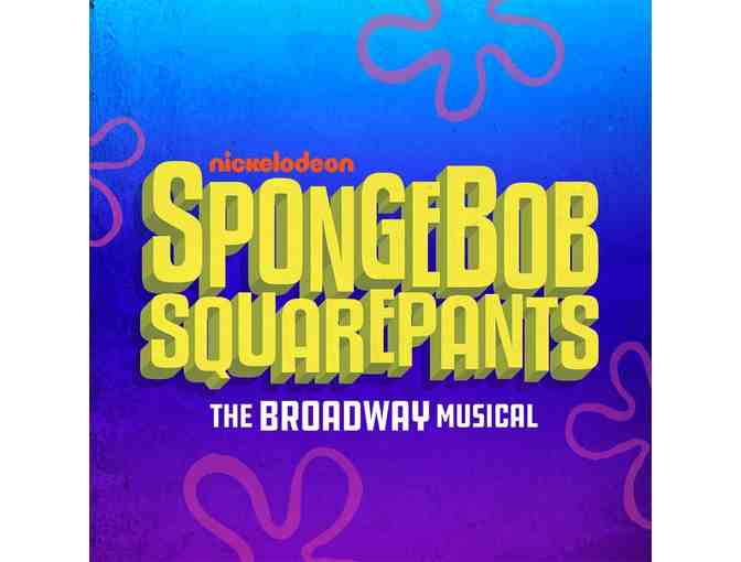2 Tickets to SPONGE BOB on Broadway - Photo 1