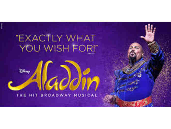 2 Tickets to ALLADIN NYC Broadway Production - Photo 1