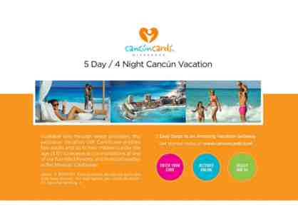 Cancun Cards Vacation