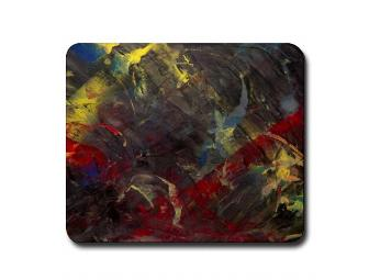 ARTSY MOUSEPAD!  'Revolution of Color'