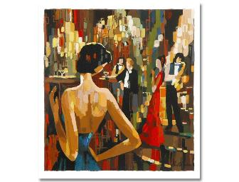 AAA COLLECTIBLE! Limited Edition Serigraph: COCKTAIL PARTY BY NELLY PANTO - Photo 1