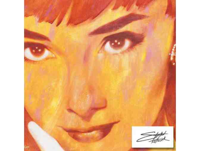 '*1 ONLY!  FOUR STAR  COLLECTIBLE ART!: 'Audrey Too' by Stephen Fishwick'