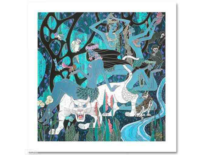 '*1 ONLY!  FOUR STAR COLLECTIBLE! 'White Panther' by Richard Zu Ming Ho!!!!!'