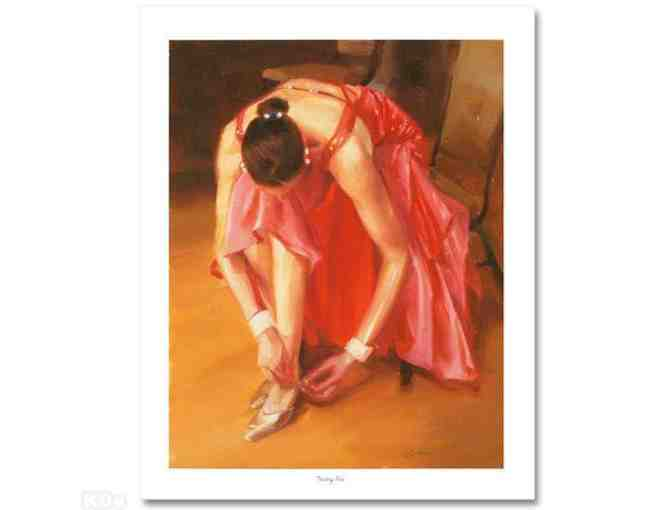 '*1 ONLY!  FOUR STAR COLLECTIBLE!!! GICLEE: 'Thinking Pink' by Carrie Graber'