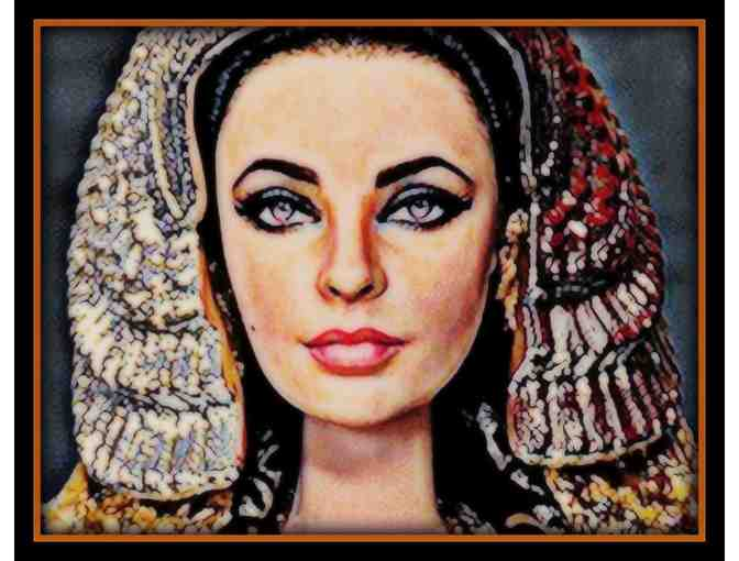 'CLEOPATRA' by WBK: Now available in 2 mediums:  a3 Giclee Print or 30x40 Canvas!