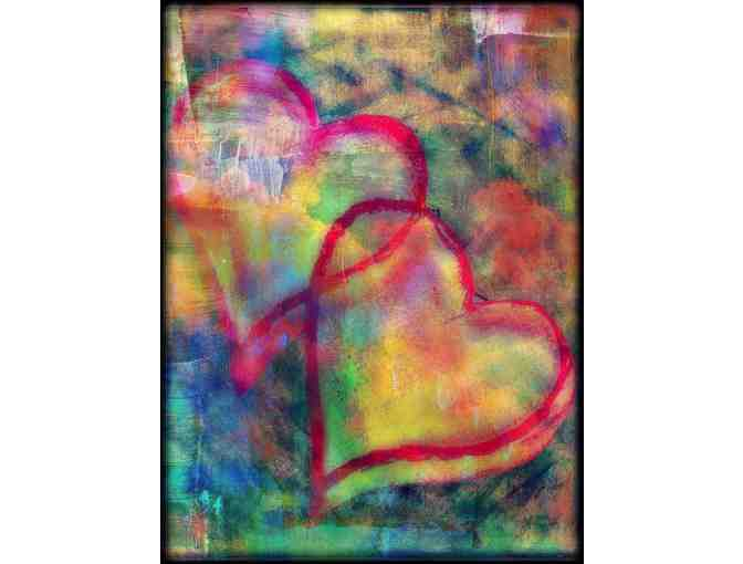 'ECLIPSE OF THE HEART' BY ISA:   Available in 2 mediums: A3 Giclee or 40X30 Canvas!