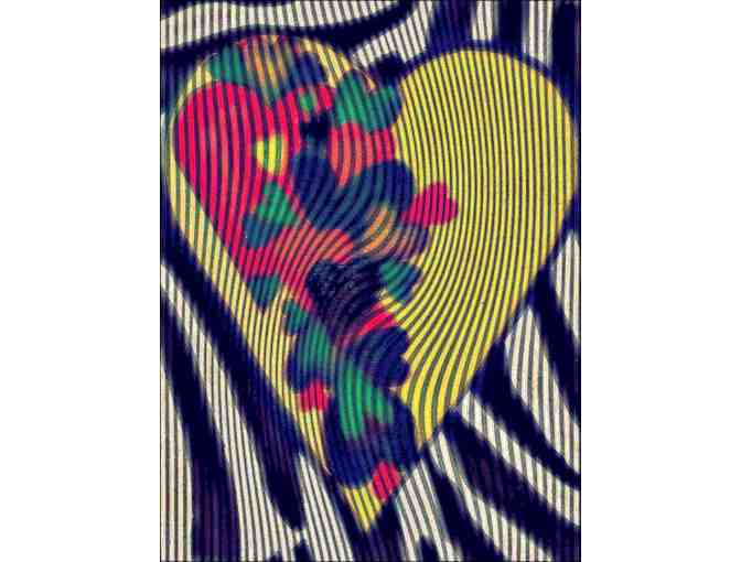 'HEART OF HEARTS' BY ISA:   Available in 2 mediums: A3 Giclee or 40X30 Canvas!