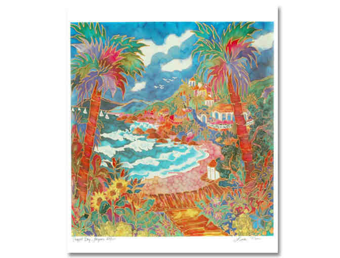 *1 only! 4 Star Collectible:  'A PERFECT DAY IN LAGUNA' by Linda Pirri