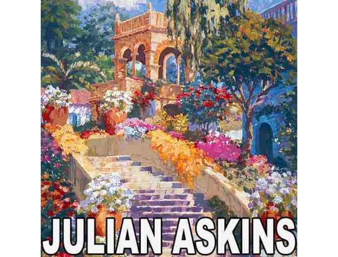 *1 only: 4 Star Collectible:  SPANISH STEPS BY JULIAN ASKINS