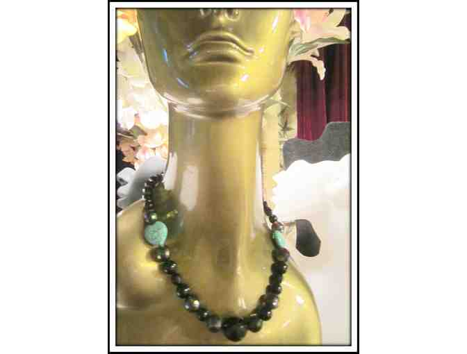 #13: 1/Kind Gemstone Necklace