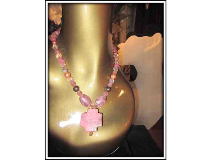 #18: 1/Kind Gemstone Necklace