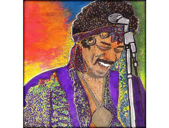 30X40' LIMITED EDITION CANVAS: 'Jimi's Smile'