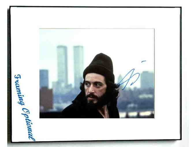 AL PACINO AUTOGRAPHED SIGNED SERPICO PHOTO & PROOF UACC